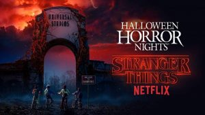 Halloween Horror Nights Stranger Things Hollywood, CA