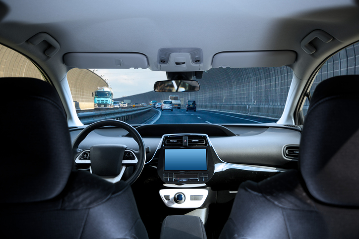 Self-Driving Cars and Ubers on California Roads