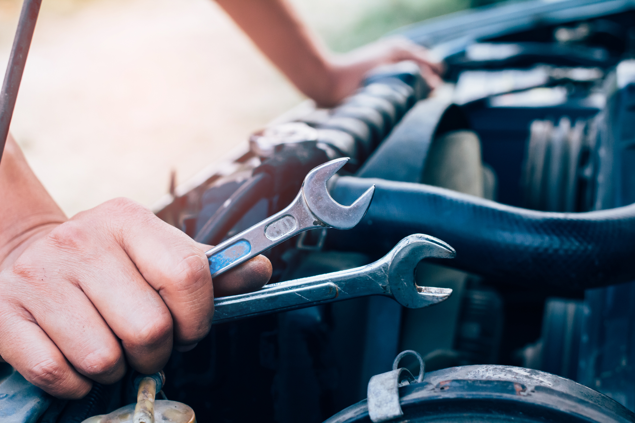 can I repair my own car after an accident