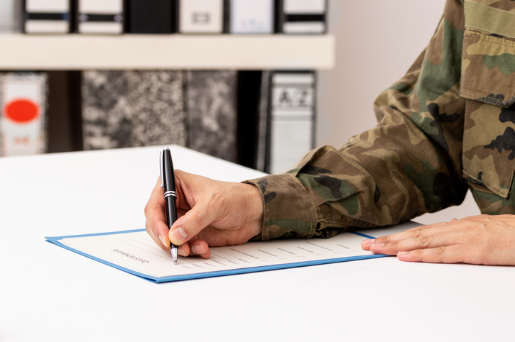 Military experience in the legal profession