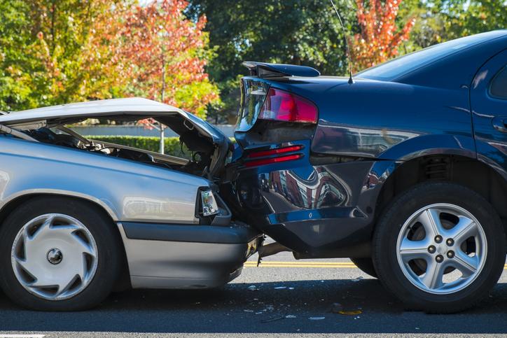 car accident no seatbelt